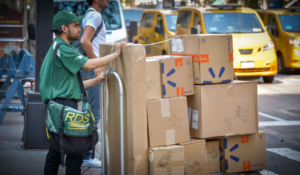 retail delivery services nyc